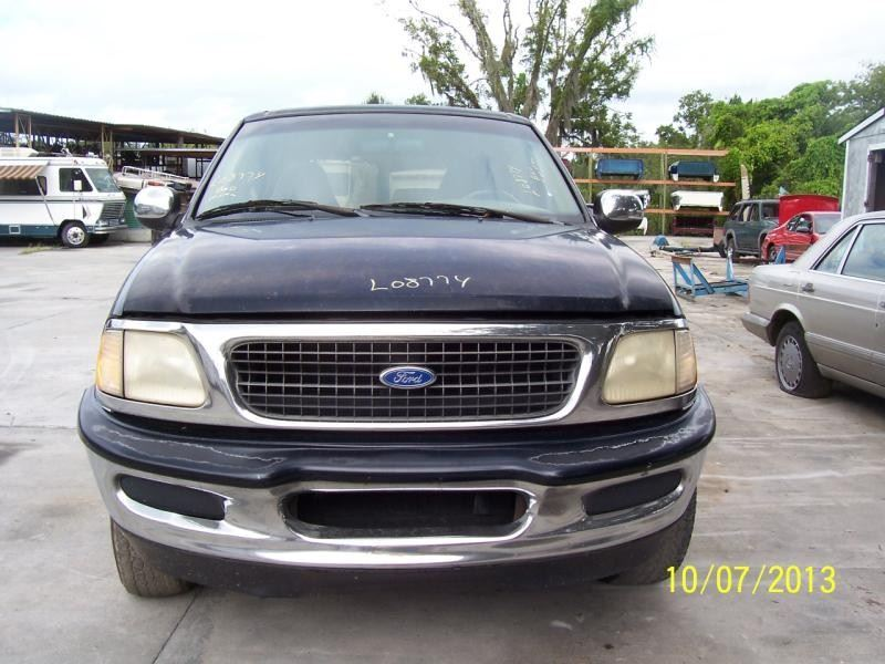 1997 ford truck ford f150 pickup front body radiator core support |  109 BLK XLT,5.4L,A4-COL-2WD,AC