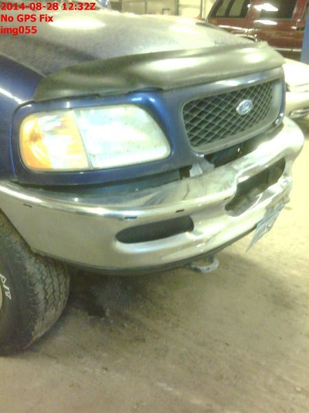 1997 ford truck ford f150 pickup front body radiator core support |  109 4X4,4.6L