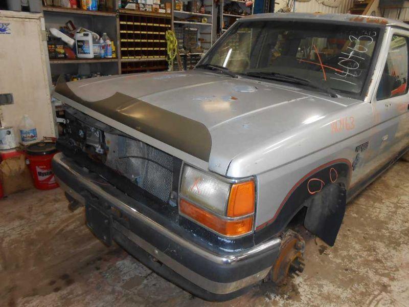 1990 ford truck bronco-ii suspension-steering bronco ii steering column |  238 BLK W/KEY,5SPD