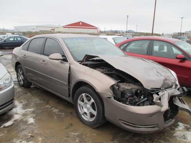 2006 chevrolet impala rear-body impala quarter panel assembly |  160 BRO,LT,5P3,RP