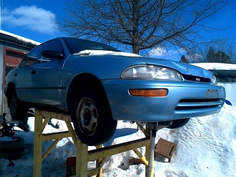 1993 general motors   foreign geo-prizm doors geo prizm door assembly  front 120 0P1,LH,BLU