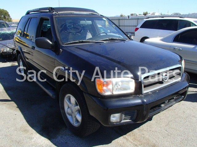 2002 Nissan Pathfinder Front Body 620 Wiper Motor