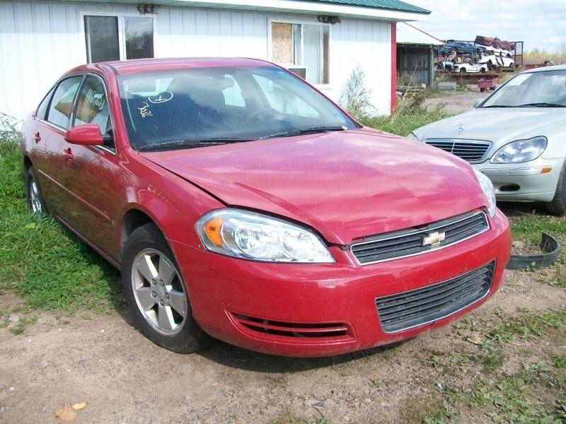 2006 chevrolet impala rear-body impala quarter panel assembly |  160 RED