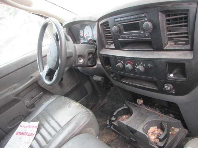 Used 2006 Dodge Truck Dodge 3500 Pickup Interior Front Seat Belts