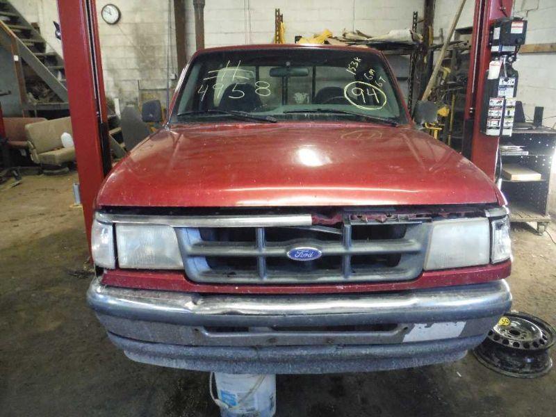 1990 ford truck bronco-ii suspension-steering bronco ii steering column 238 XLT,5SPD,RWD,GREY,**FOR PARTS**