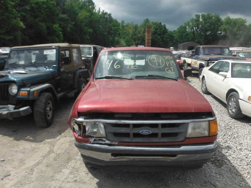 1990 ford truck bronco-ii suspension-steering bronco ii steering column |  238 RD 2DR XLT BLK WITH KEY