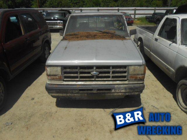 1990 ford truck bronco-ii suspension-steering bronco ii steering column 238 FLR,5MT,WKEY,BLK