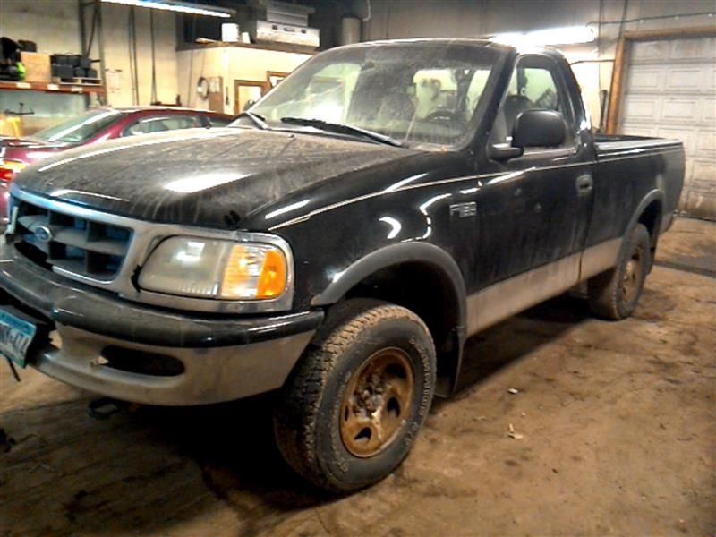 1997 ford truck ford f150 pickup front body radiator core support |  109