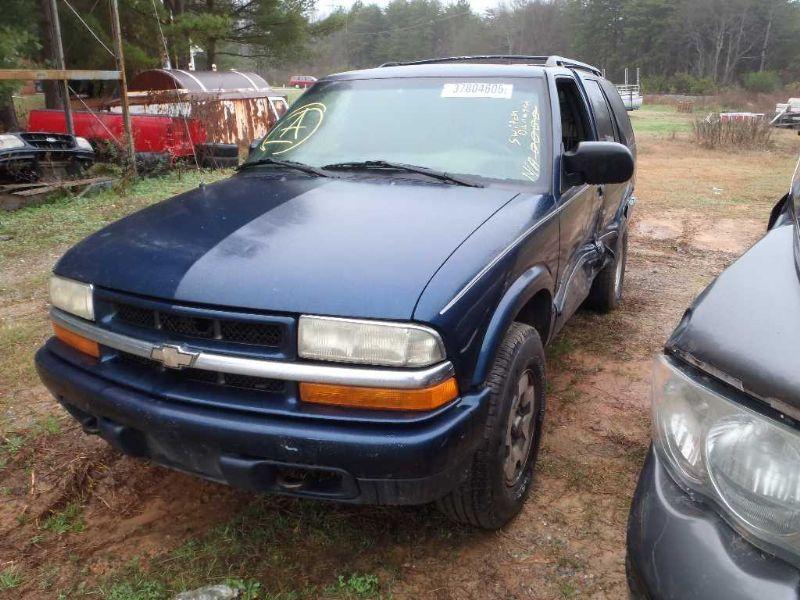 Used 2003 Chevrolet Blazer Interior Sun Visor Left