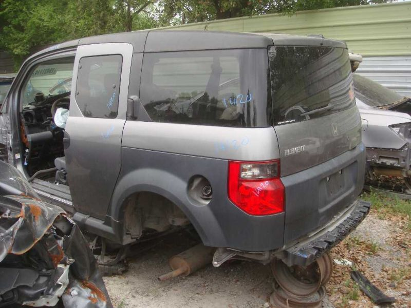 2007 Honda Element Glass And Mirrors Interior Rear View