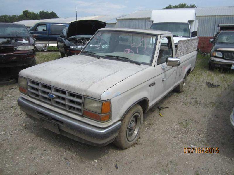 1990 ford truck bronco-ii suspension-steering bronco ii steering column 238 BLACK, FLOOR SHIFT, W/KEY