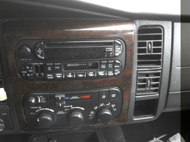 2002 Dodge Truck Durango Interior 202 Durango 202 01807bl Seat F