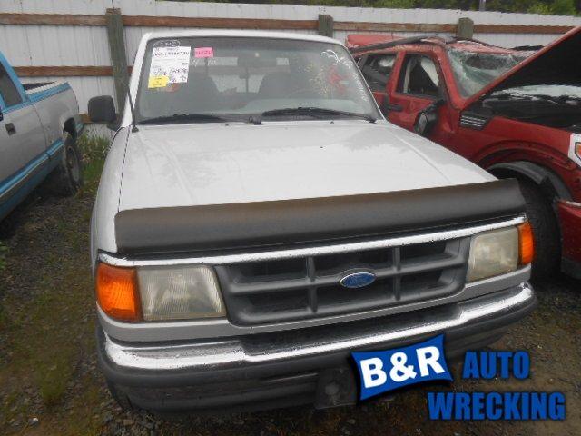 1990 ford truck bronco-ii suspension-steering bronco ii steering column 238 XLT,FLR,5MT,WKEY,BLK