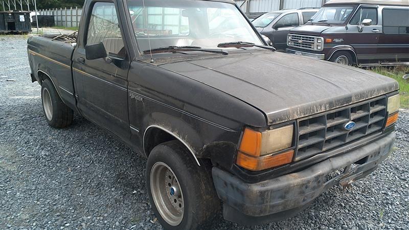 1990 ford truck bronco-ii suspension-steering bronco ii steering column |  238 BLACK W-KEY