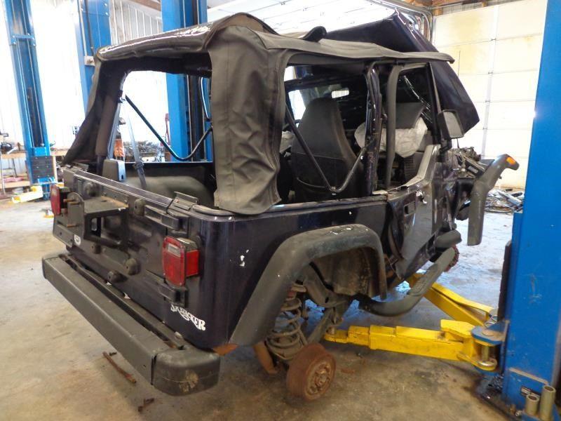 1997 jeep wrangler interior dash panel lhd 251 Grey,Floor,SE PARTS