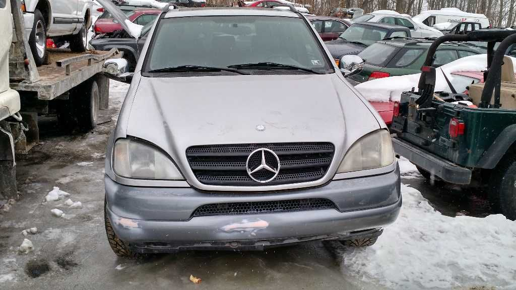1998 mercedes benz ml320 front body hood 163 type ml320 for Mercedes benz newton nj