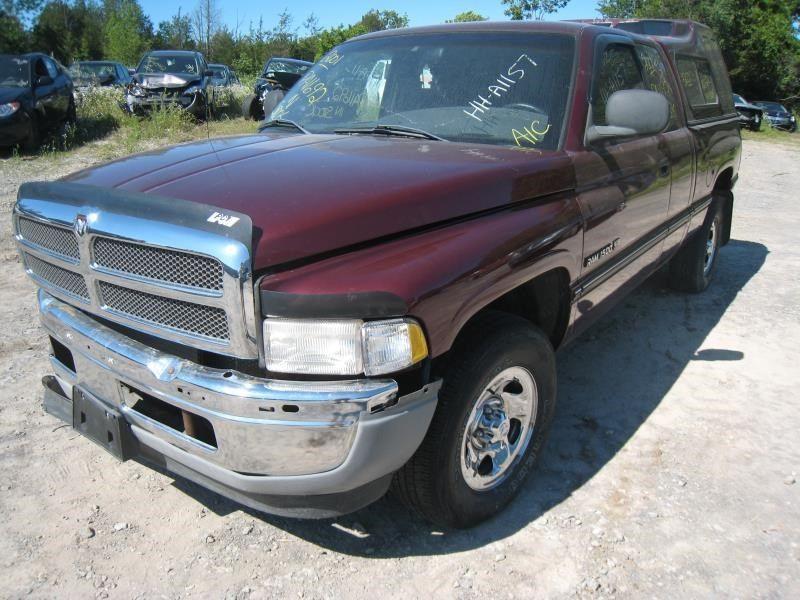 2000 Dodge Truck Dodge 1500 Pickup Interior Speedometer Head Cluster Cluster Tachometer At