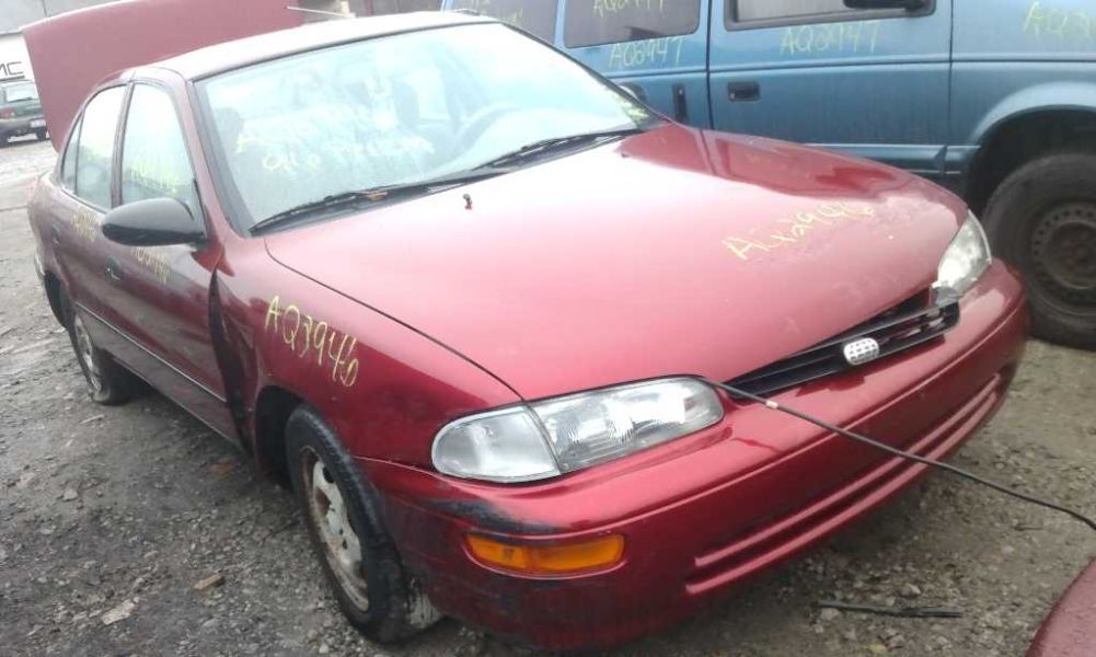 1993 general motors   foreign geo-prizm doors geo prizm door assembly front 120 LH,4DR,MW,MM,4/96,SCUFF 2H DENT