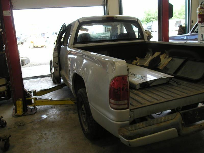 Used 2002 Dodge Truck Dakota Interior Front Seat Belts Club Cab D