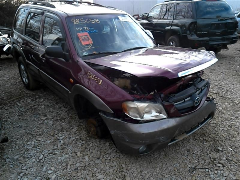2001 mazda mazda-tribute rear-body mazda tribute bumper assembly  rear 190 000
