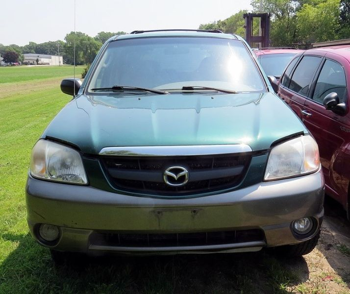 2001 mazda mazda-tribute rear-body mazda tribute bumper assembly rear 190 GLD,WALKIN/REINF ONLY,SEE NOTES