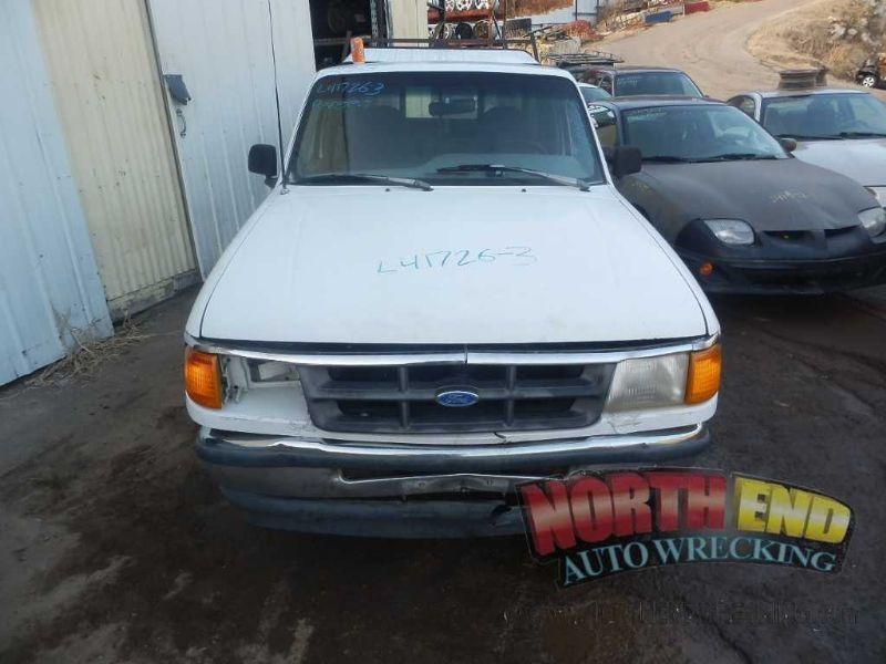 1990 ford truck bronco-ii suspension-steering bronco ii steering column |  238 REG CAB,BLK,5SP,5/93,D,W/KEY,FLR