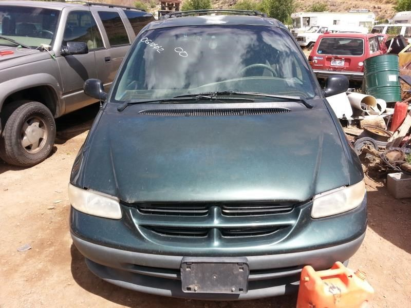 Ballard (UT) United States  city pictures gallery : 2000 Chrysler Town And Country Front Body 117 Hood 117 01466 Hood