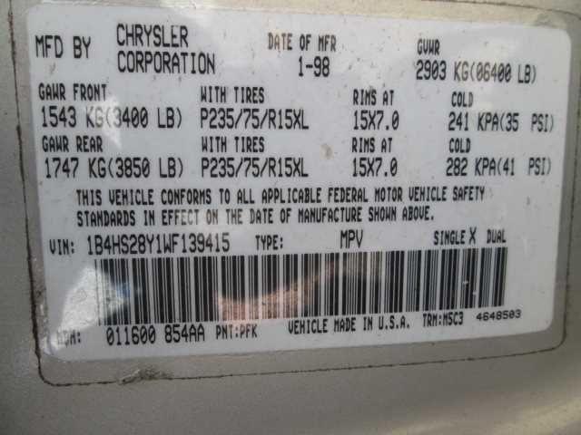 1998 dodge truck dakota suspension-steering dakota spindle knuckle  front |  515 LH