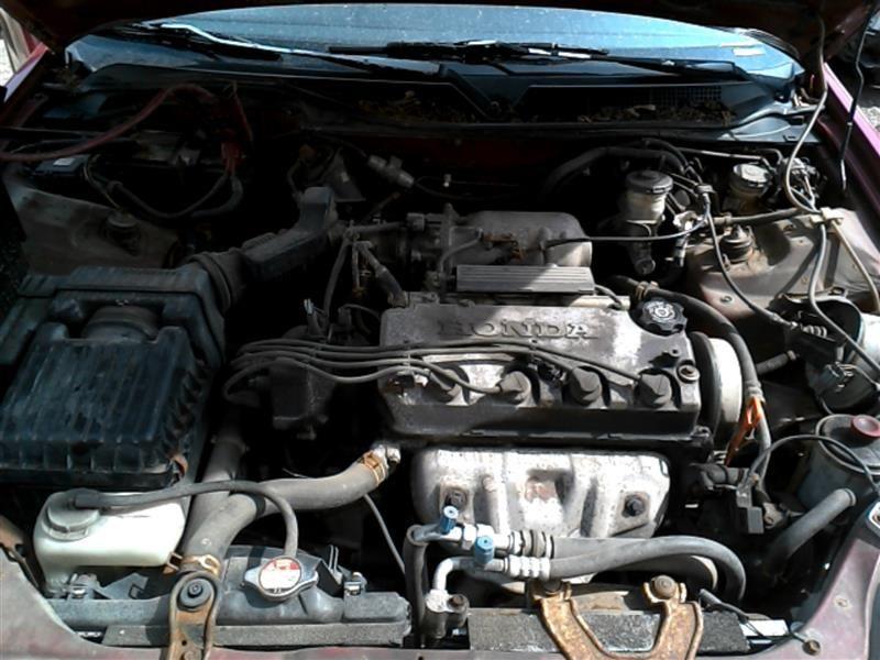 1996 Honda Civic Interior Civic Speedometer Head Cluster Used Auto Parts Hollanderparts