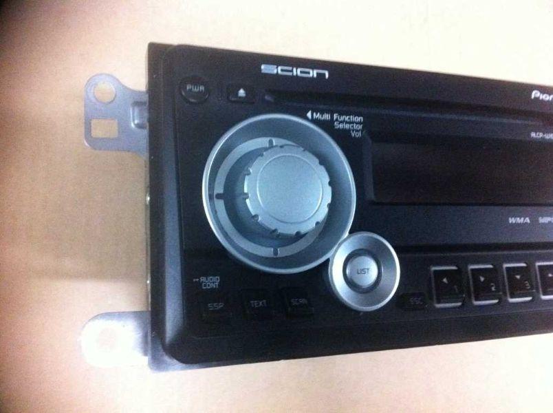 11 12 scion tc radio stereo am fm cd pioneer ebay. Black Bedroom Furniture Sets. Home Design Ideas