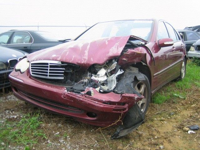 Used 2001 mercedes benz c320 rear body decklid tailgate for 2001 mercedes benz c240 parts
