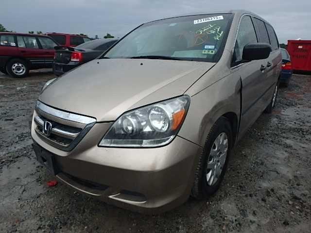 Used 2007 Honda Odyssey Rear Body Bumper Assembly Rear W O