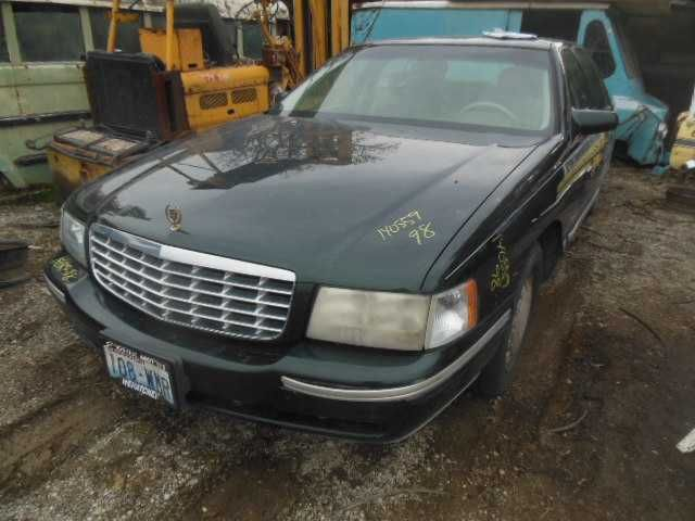 1999 cadillac deville lights headlamp assembly right  |  114 GRN,4DR