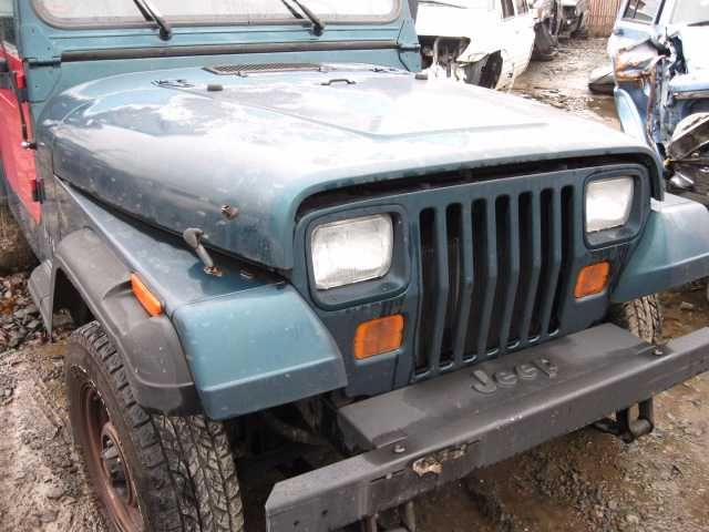 Used 1995 Jeep Wrangler Front Body Wrangler Grille Part ...