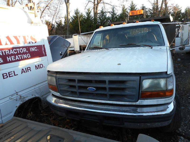 Used 1997 ford ford f350 pickup engine accessories ac for Paradise motors elkton md