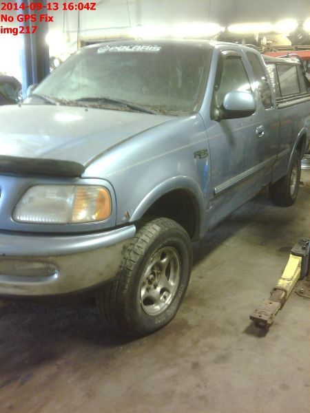 1997 ford truck ford f150 pickup front body radiator core support |  109 4X4,4.6L,AT