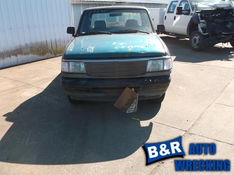1990 ford truck bronco-ii suspension-steering bronco ii steering column 238 XL,STD,FLR,MT,WKEY,BLK