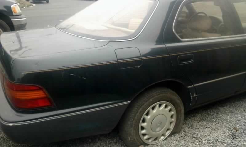 1992 Lexus Ls400 Suspension Control Arm Rear Lower Rearward Genuine
