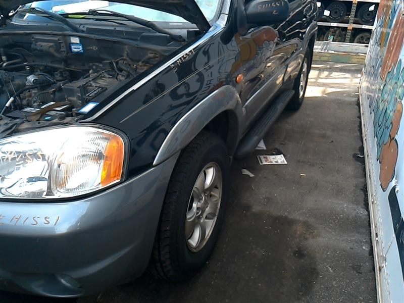 2001 mazda mazda-tribute rear-body mazda tribute bumper assembly  rear |  190 000,WHT