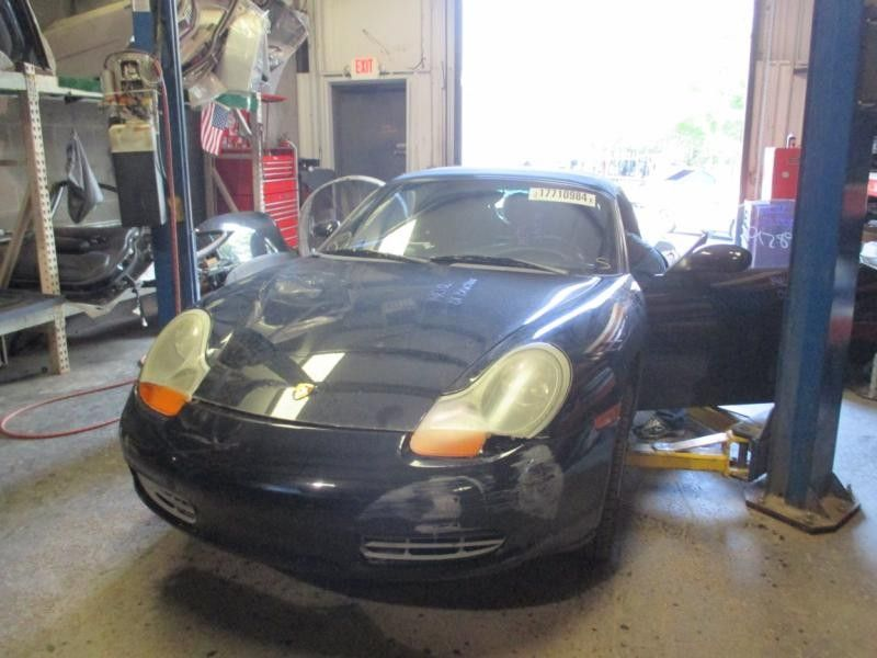2002 porsche boxster suspension-steering suspension crossmember k frame rear  suspension   |  477 2.7,5 Sp,RWD