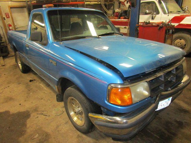 1990 ford truck bronco-ii suspension-steering bronco ii steering column |  238 BLK,W KEY,BAG WAS GOOD