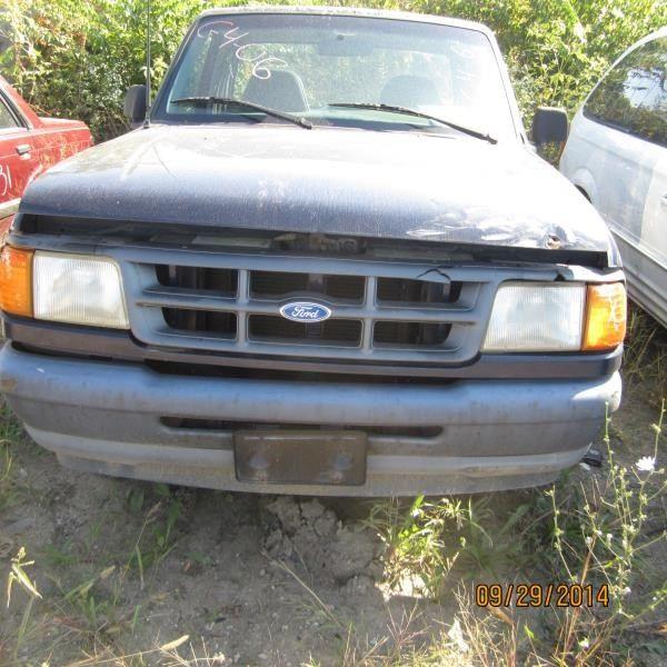 1990 ford truck bronco-ii suspension-steering bronco ii steering column |  238 BLACK, FLOOR SHIFT, W/KEY