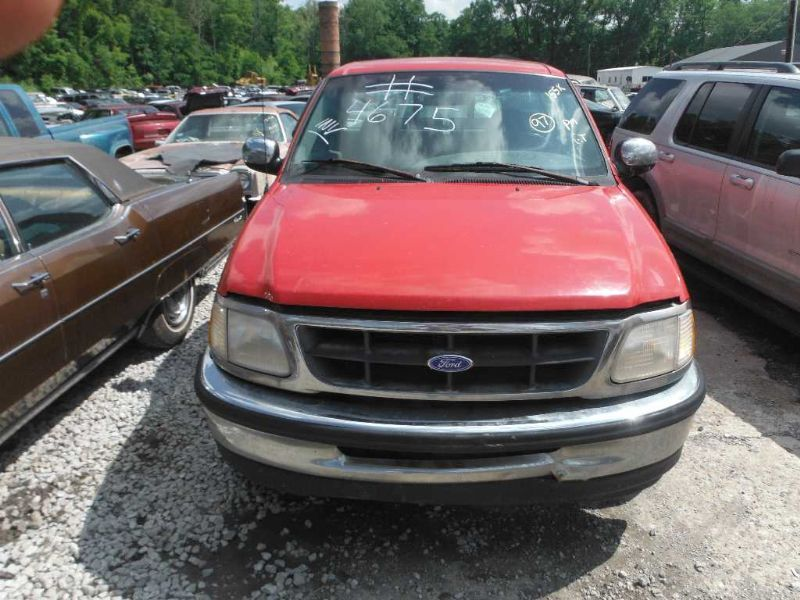 1997 ford truck ford f150 pickup front body radiator core support |  109 4.6 AT 2WD RED