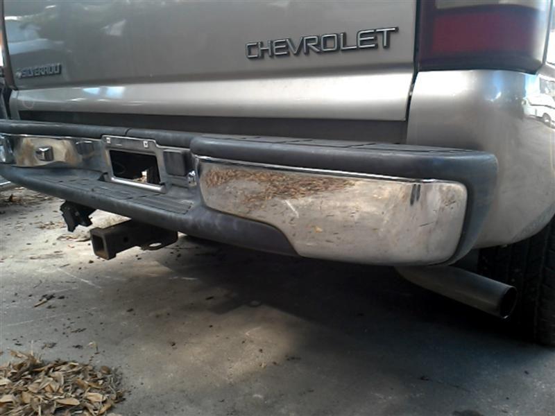 used 2000 chevrolet truck silverado 1500 pickup rear body bumper. Black Bedroom Furniture Sets. Home Design Ideas