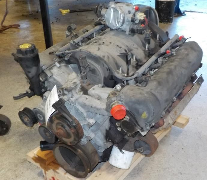 Engine 02 Jeep Grand Cherokee 4 7l 8