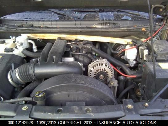 2007 Chevrolet Trailblazer Electronic Suspension System Circuit