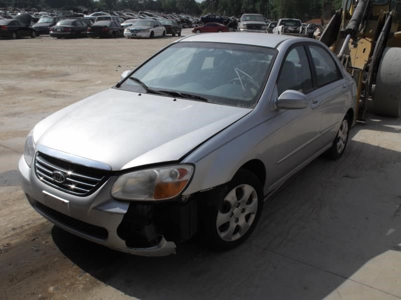 2006 kia spectra5 lights headlamp assembly right sdn 4 dr  ex r  114 SILVER,EX