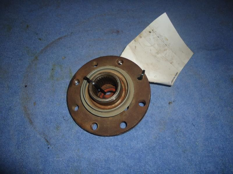 1995 Ford Bronco Spindle : Ford bronco rear differential