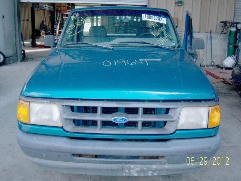 1990 ford truck bronco-ii suspension-steering bronco ii steering column |  238 BLK,2DR,XLT,2.3L,F5,RWD,NO KEY