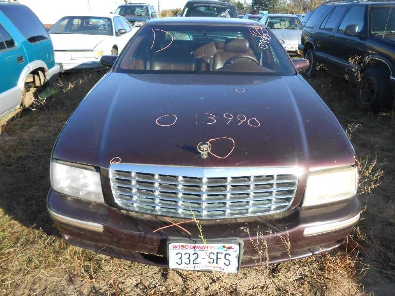 1999 cadillac deville lights headlamp assembly right  |  114 RH,DULL